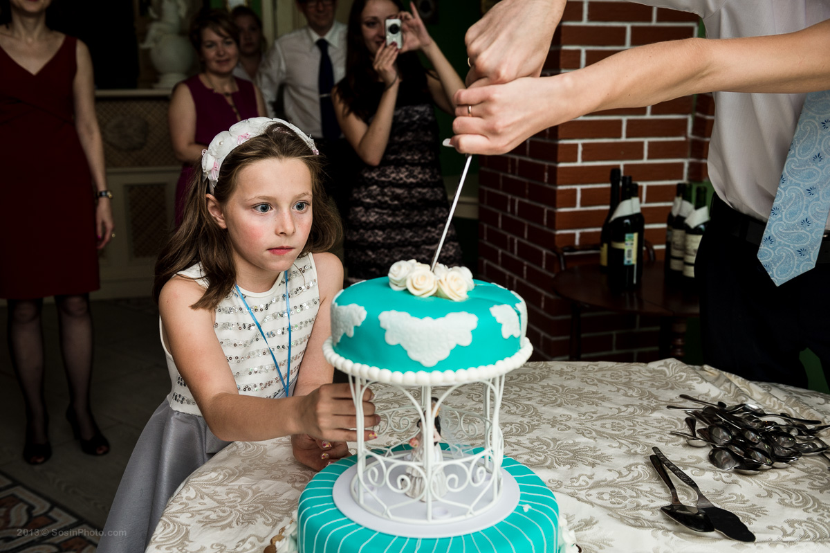 Ребенок на свадьбе
