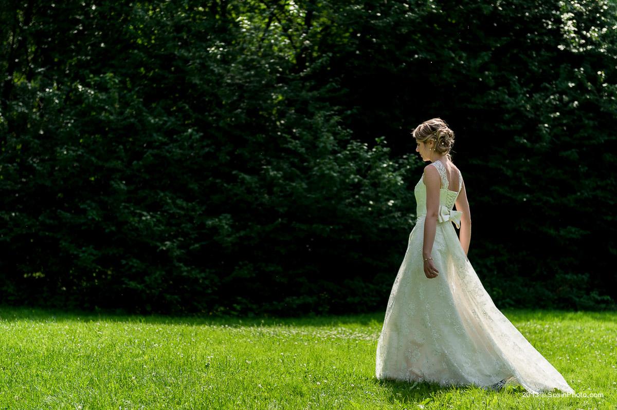 Невеста в бот саду